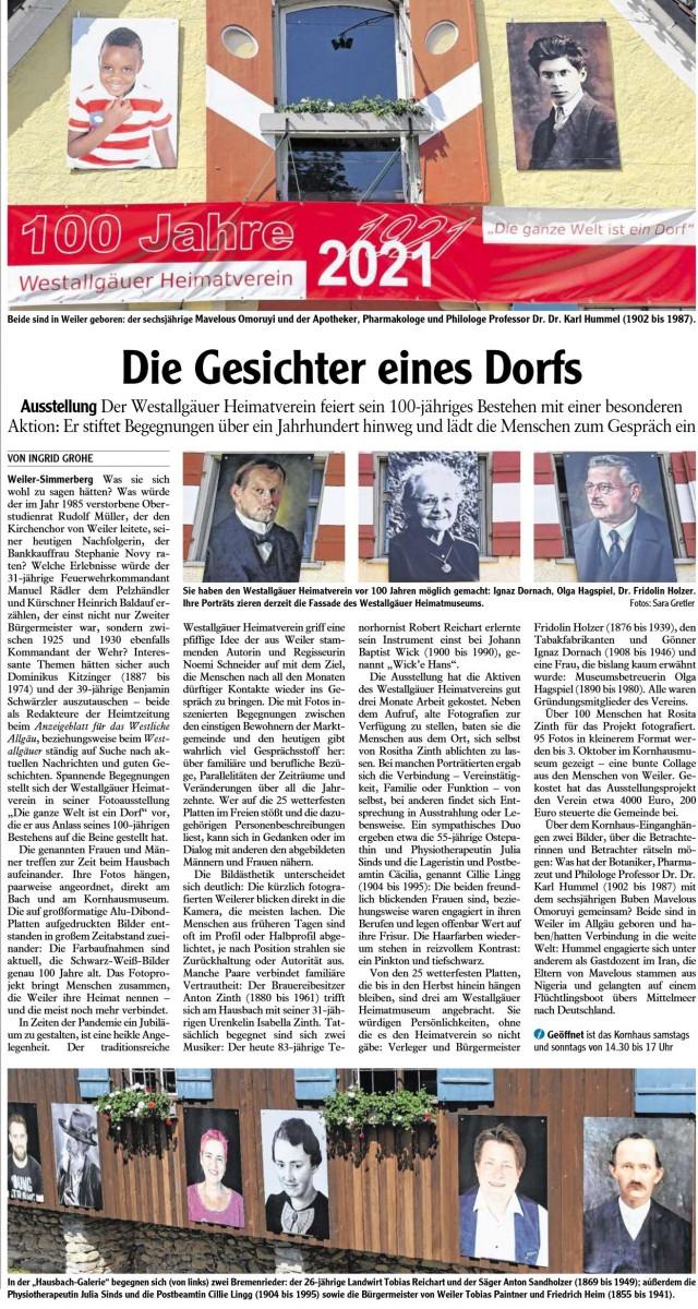 Pressebericht Westallgaeuer